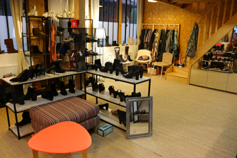 chaussures show-room